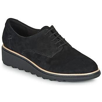 Obuća Žene  Derby cipele Clarks SHARON NOEL Crna