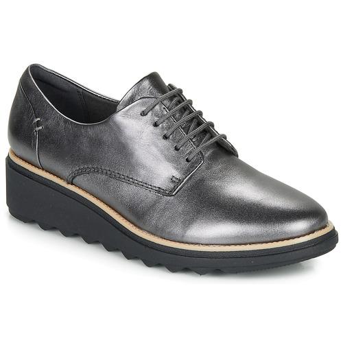 Obuća Žene  Derby cipele Clarks SHARON NOEL Srebrna