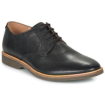 Obuća Muškarci  Derby cipele Clarks ATTICUS LACE Crna