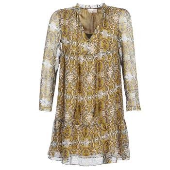 Odjeća Žene  Kratke haljine Moony Mood LONI Žuta