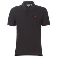 Odjeća Muškarci  Polo majice kratkih rukava Levi's LEVI'S HOUSEMARK POLO Crna