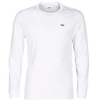 Odjeća Muškarci  Majice kratkih rukava Levi's LS ORIGINAL HM TEE Bijela