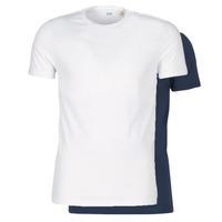 Odjeća Muškarci  Majice kratkih rukava Levi's SLIM 2PK CREWNECK 1 Bijela