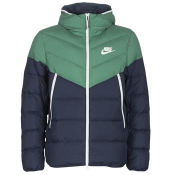 Odjeća Muškarci  Pernate jakne Nike M NSW DWN FILL WR JKT HD Zelena