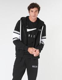 Odjeća Muškarci  Sportske majice Nike M NSW NIKE AIR HOODIE FZ FLC Crna