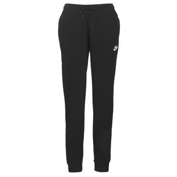 Odjeća Žene  Donji dio trenirke Nike W NSW ESSNTL PANT REG FLC Crna