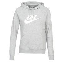 Odjeća Žene  Sportske majice Nike W NSW ESSNTL HOODIE PO  HBR Siva