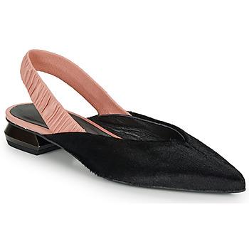 Obuća Žene  Balerinke i Mary Jane cipele Heimstone SWEDES Crna / Ružičasta