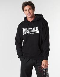 Odjeća Muškarci  Sportske majice Lonsdale WOLTERTON Crna