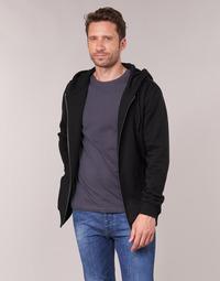 Odjeća Muškarci  Sportske majice Urban Classics BASIC ZIP HOODY Crna