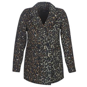 Odjeća Žene  Kaputi Vero Moda VMCOCOLEOPARD Smeđa