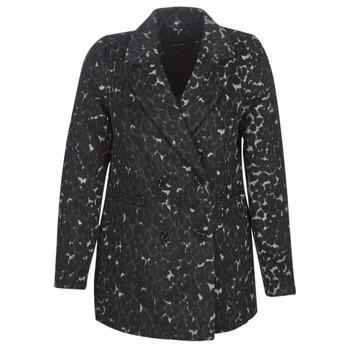 Odjeća Žene  Kaputi Vero Moda VMCOCOLEOPARD Siva