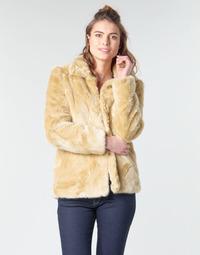 Odjeća Žene  Kaputi Vero Moda VMMINK Bež