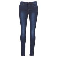 Odjeća Žene  Slim traperice Vero Moda VMSEVEN Blue / Zagasita