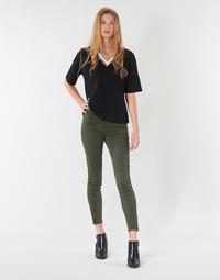 Odjeća Žene  Hlače s pet džepova Vero Moda VMSEVEN Kaki