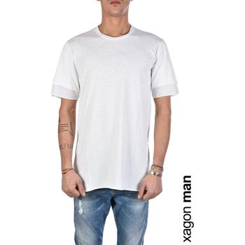 Odjeća Muškarci  Majice kratkih rukava Xagon Man  Bijela