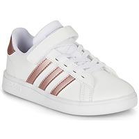 Obuća Djevojčica Niske tenisice adidas Originals GRAND COURT C Bijela