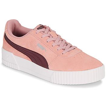 Obuća Žene  Niske tenisice Puma COURT CALI RS Ružičasta