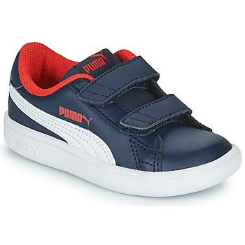 Obuća Dječak  Niske tenisice Puma SMASH V2 L V Blue
