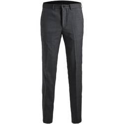 Odjeća Muškarci  Hlače od odijela Jack & Jones 12141112 JPRSOLARIS TROUSER NOOS DARK GREY Gris