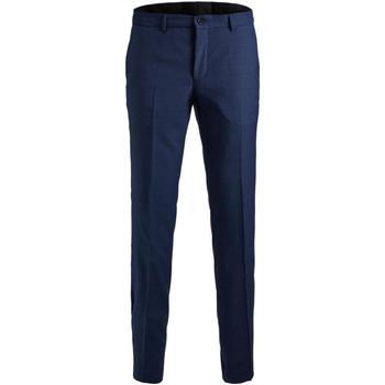 Odjeća Muškarci  Hlače od odijela Jack & Jones 12141112 JPRSOLARIS TROUSER NOOS MEDIEVAL BLUE Azul