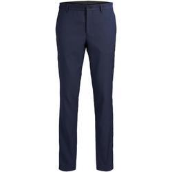 Odjeća Muškarci  Hlače od odijela Jack & Jones 12141112 JPRSOLARIS TROUSER NOOS DARK NAVY Azul marino