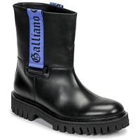 Obuća Muškarci  Polučizme John Galliano 8560 Crna / Blue