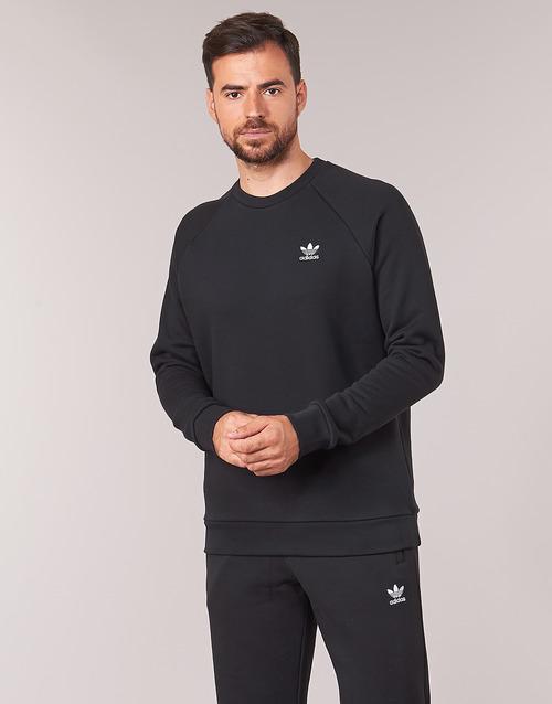 Odjeća Muškarci  Sportske majice adidas Originals ESSENTIAL CREW Crna