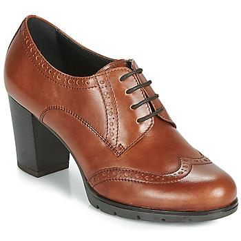 Obuća Žene  Derby cipele André MAESTRO Boja konjaka