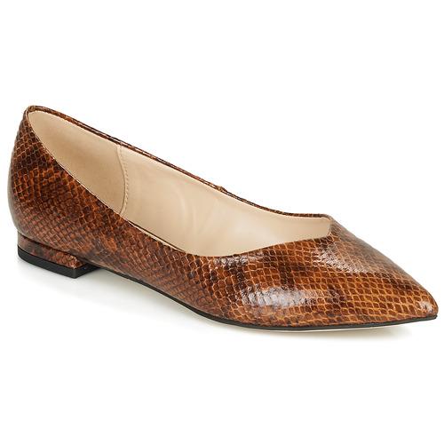 Obuća Žene  Balerinke i Mary Jane cipele André LISERON Smeđa