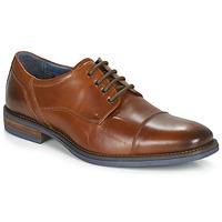 Obuća Muškarci  Derby cipele André BYRON Boja konjaka
