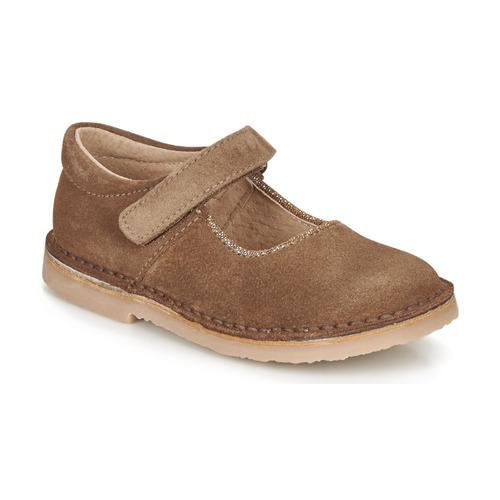 Obuća Djevojčica Balerinke i Mary Jane cipele André LAURIANNE Smeđa