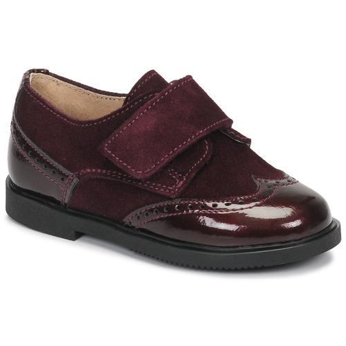Obuća Djevojčica Derby cipele André JUNE Bordo