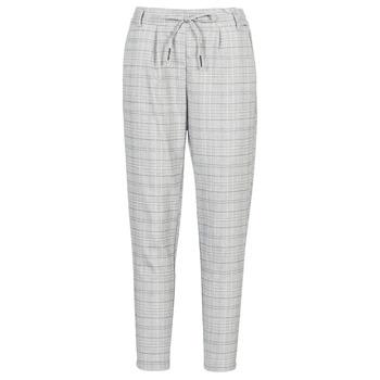 Odjeća Žene  Chino hlačei hlače mrkva kroja Only ONLPOPTRASH Crna / Bijela