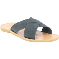Obuća Muškarci  Natikače Attica Sandals ORION NUBUCK BLACK nero