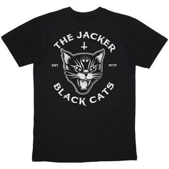 Odjeća Muškarci  Majice kratkih rukava Jacker Black cats Crna