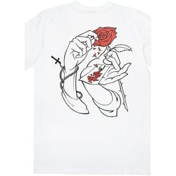 Odjeća Muškarci  Majice kratkih rukava Jacker Holy roses Bijela