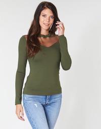 Odjeća Žene  Topovi i bluze Moony Mood LAMELI Kaki