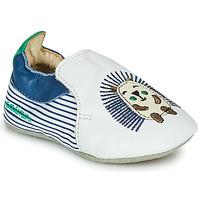 Obuća Dječak  Papuče Catimini COFFI Bijela / Blue / Zelena