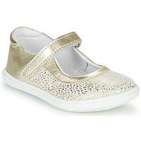 Obuća Djevojčica Balerinke i Mary Jane cipele GBB PLACIDA Bijela / Gold