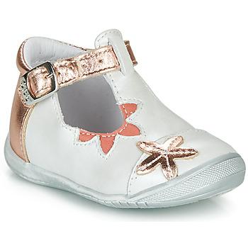 Obuća Djevojčica Balerinke i Mary Jane cipele GBB ANAXI Bijela / Ružičasta / Zlatna