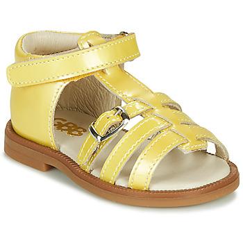 Obuća Djevojčica Sandale i polusandale GBB ANTIGA Žuta