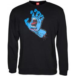 Odjeća Muškarci  Sportske majice Santa Cruz Screaming hand Crna