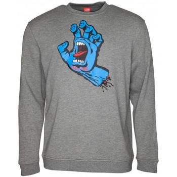 Odjeća Muškarci  Sportske majice Santa Cruz Screaming hand Siva