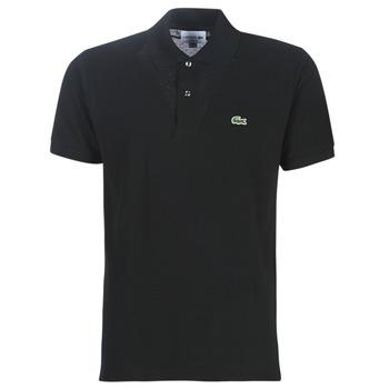 Odjeća Muškarci  Polo majice kratkih rukava Lacoste POLO L12 12 REGULAR Crna