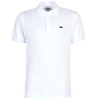 Odjeća Muškarci  Polo majice kratkih rukava Lacoste POLO L12 12 REGULAR Bijela