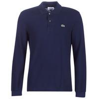 Odjeća Muškarci  Polo majice dugih rukava Lacoste L1312 Blue