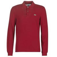 Odjeća Muškarci  Polo majice kratkih rukava Lacoste L1312 Bordo