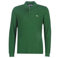 Odjeća Muškarci  Polo majice dugih rukava Lacoste L1312 Zelena