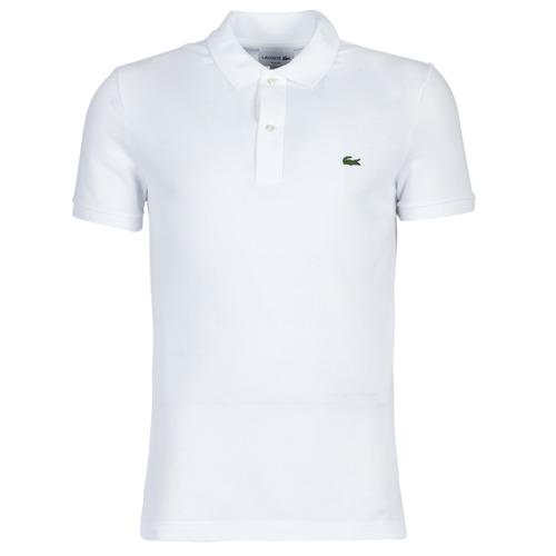 Odjeća Muškarci  Polo majice kratkih rukava Lacoste PH4012 SLIM Bijela
